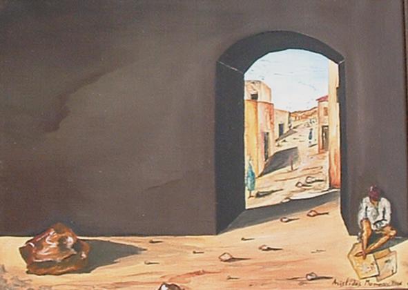De guarda à porta da aldeia