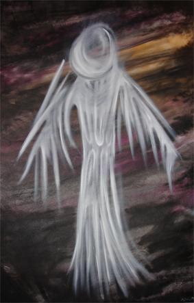 O anjo exausto