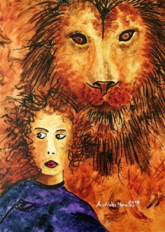 Alice e o leão