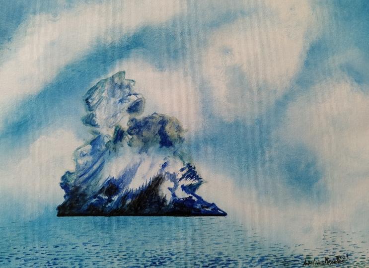 Iceberg levitante